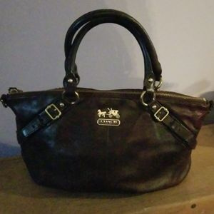 Coach medium satchel stagecoach